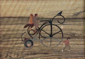 À bicyc' dans le désert